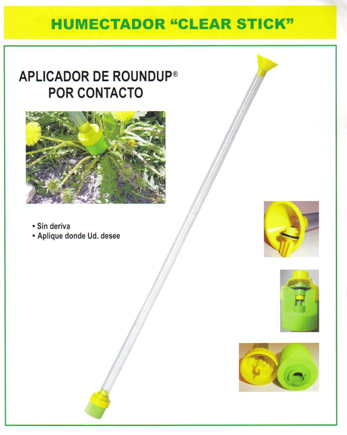 Baston para Aplicacion de  Herbicidas de Contacto